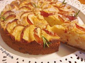 Obuolių pyragas su varške pagal Audronę
