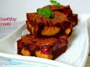 Šokoladinis pyragas su riešutų sviestu