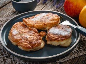 Lenkiški obuolių blyneliai