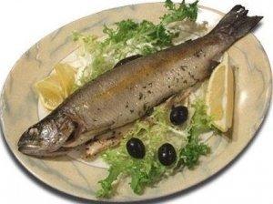 Žuvys keptos ant grotelių