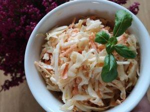 Gaivios kopūstų salotos su garstyčių padažu