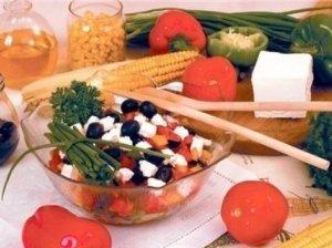 Daržovių salotos su pievagrybiais II