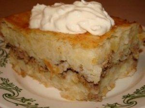 Bulvių pyragėliai su mėsa  (Jūratės)