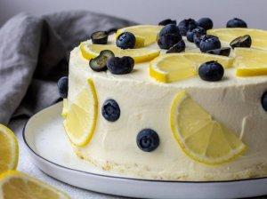 Citrininis maskarponės sūrio tortas