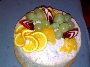 Jogurtinis žemuogių tortas