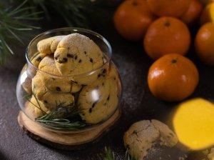 Mandarinų sausainiai be kiaušinių, pieno produktų ir glitimo
