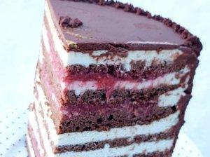 Šokoladinis medaus tortas