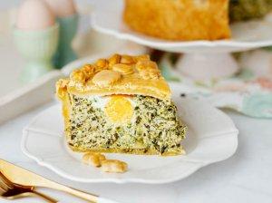 """Itališkas Velykų pyragas """"Torta Pasqualina"""""""