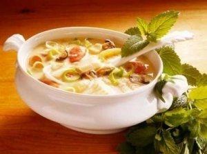Kepintų daržovių sriuba