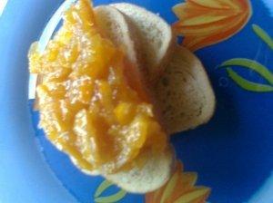 Apelsinų ir morkų uogienė