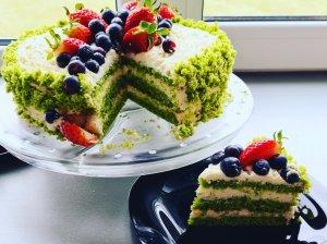 špinatų tortas