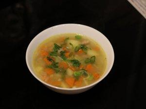 Veganiška daržovių sriuba