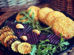 Vištienos ir daržovių kotletai orkaitėje