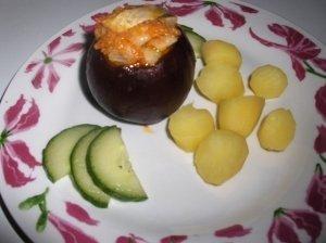 Silkės salotos burokėlio puodynėlėje
