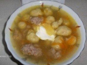 Mikučių sriuba su morkomis