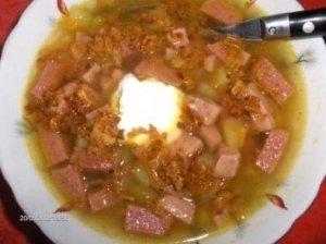 Švabiška dešros sriuba