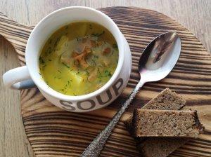 Voveraičių sriuba su daržovėmis