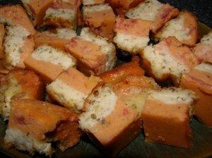 Dvispalvis sūrio pyragas