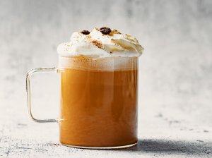 """Moliūgų pyrago kava """"Pumpkin spice latte"""""""