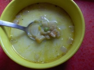 Šviežių daržovių sriuba