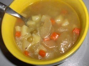 Daržovių sriuba su rūgštele