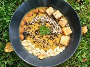 Labai sveika rudens moliūgų sriuba