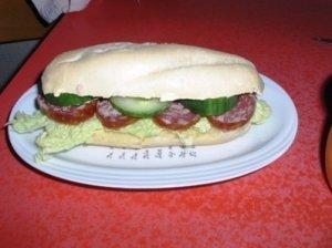Kaimiškas sumuštinis - suvožtinis