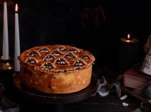 Nesaldus pyragas Helovynui