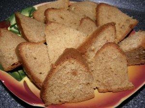 Grikių miltų pyragas