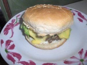 Veršienos burgeriai
