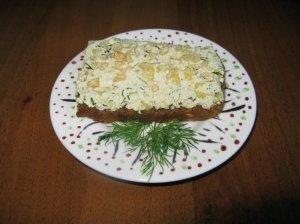 Sūrus sumuštinis su avokadu