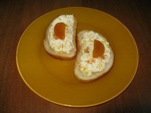 Saldus sumuštinis su avokadu