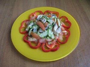 Gaivios silkės salotos
