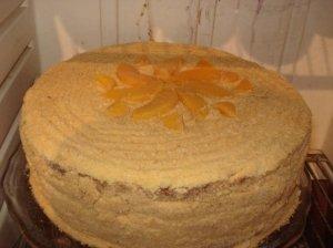Močiutės Lilės tortas su pudingo kremu
