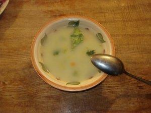 Trijų daržovių sriuba