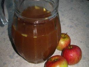 Imbierinės obuolių sultys