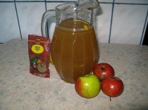 Kmynų - obuolių sulčių gėrimas