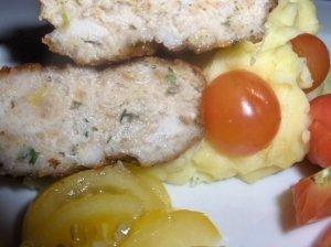 Pikantiški lydekos ir vištienos kotletukai