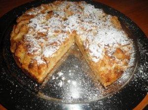 Trupininis obuolių pyragas su romu