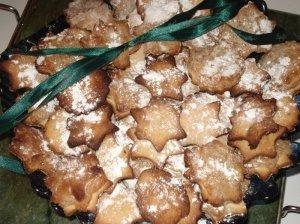 Meduoliniai su marcipanu sausainiai