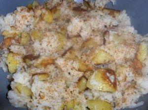 Bulvės su ryžiais