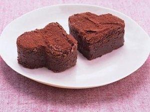 """Šokoladiniai pyragėliai """"Širdelės"""""""