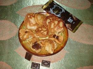 Blynai su šokoladu