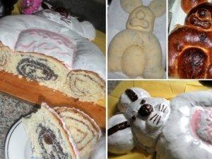 "Velykinis pyragas ""Kiškutis"""