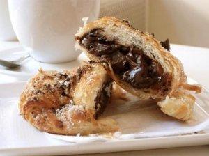 Prancūziški pyragėliai su šokoladu