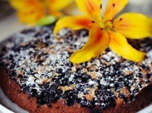 Mėlynių pyragas