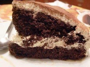 Kavos pyragas su kremu