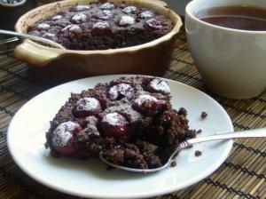 Šokolado ir migdolų pyragas