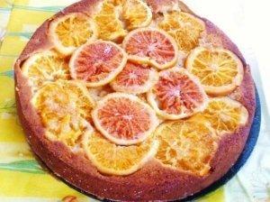 Prancūziškas apelsinų pyragas