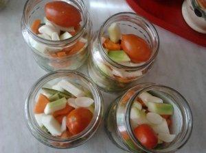 Marinuotos daržovės